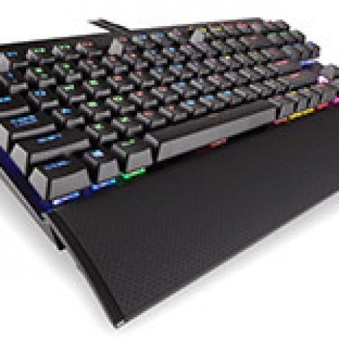 海盗船 K65 LUX RGB Compact 机械键盘 Cherry Red