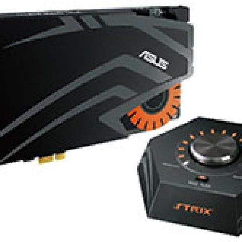 华硕 Strix Raid DLX 7.1 PCI-E Gaming Sound Card 独立声卡