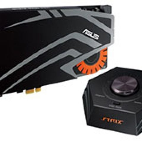 华硕 Strix Raid Pro 7.1 PCI-E Gaming Sound Card 独立声卡