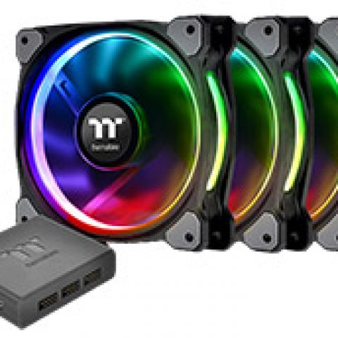 Thermaltake Riing Plus 12 RGB Premium Edition Fan 3pk 风扇套装