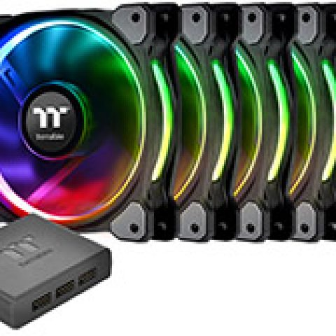 Thermaltake Riing Plus 14 RGB Premium Edition Fan 5pk 风扇套装