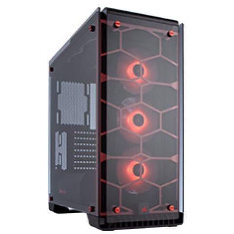 海盗船 Crystal 570X RGB Red ATX Case 机箱