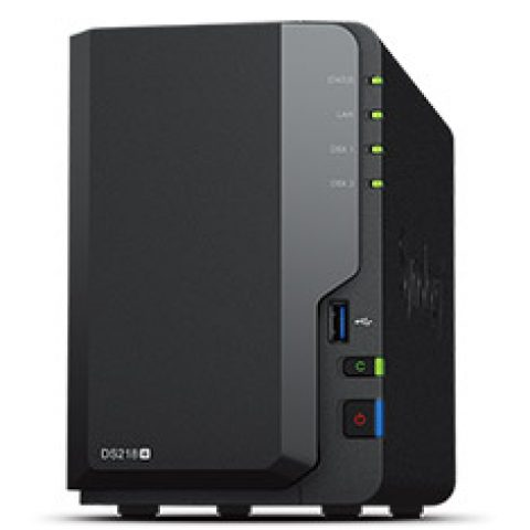Synology DiskStation DS218+ 2 Bay NAS 个人云 私有云