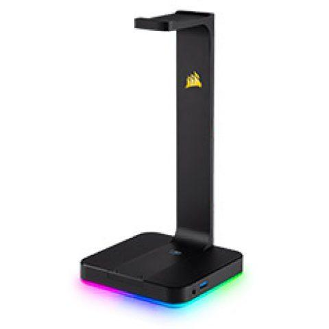 海盗船 ST100 RGB Premium Headset Stand with 7.1 Surround DAC 耳机架