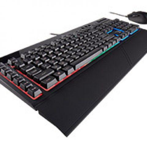 海盗船 K55 Plus Harpoon RGB 键盘 和 鼠标 套装