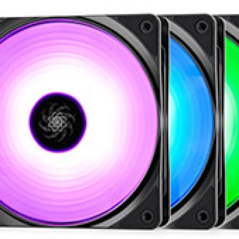 Deepcool RF-120 RGB Fan 120mm 3 Pack 风扇套装