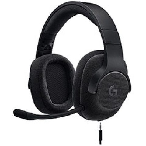 Logitech G433 7.1 Wired Surround Gaming Headset - Black 虚拟7.1声道 游戏耳机