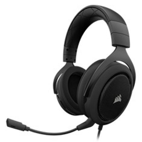 海盗船 HS60 Surround Gaming Headset Carbon 游戏耳机