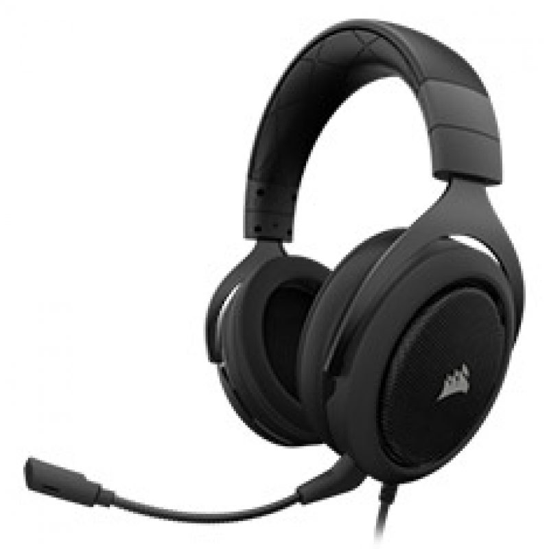 海盗船 HS60 Surround Gaming Headset Carbon 游戏耳机