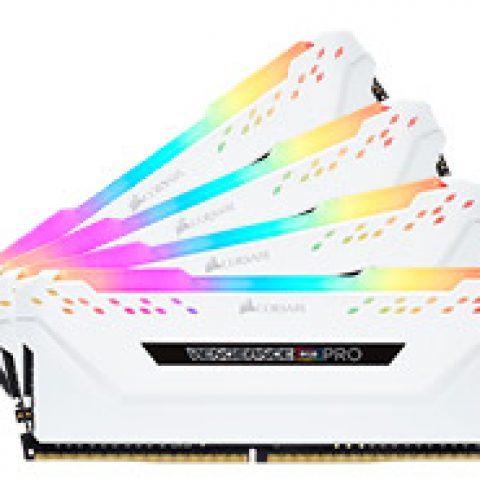海盗船 复仇者 RGB Pro CMW32GX4M4A2666C16W 32GB (4x8GB) DDR4 内存