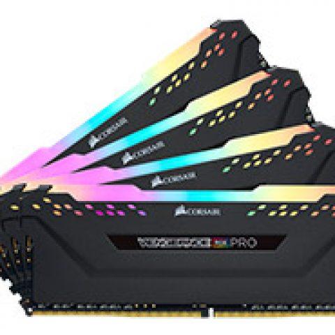 海盗船 复仇者 RGB Pro CMW32GX4M4C3200C16 32GB (4x8GB) DDR4 内存