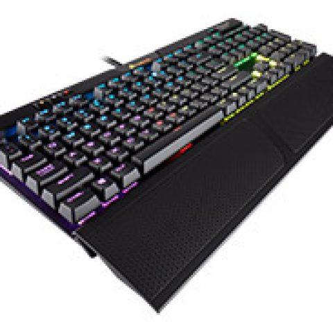 海盗船 K70 MK2 RGB 机械键盘 Gaming 键盘 Cherry MX Blue