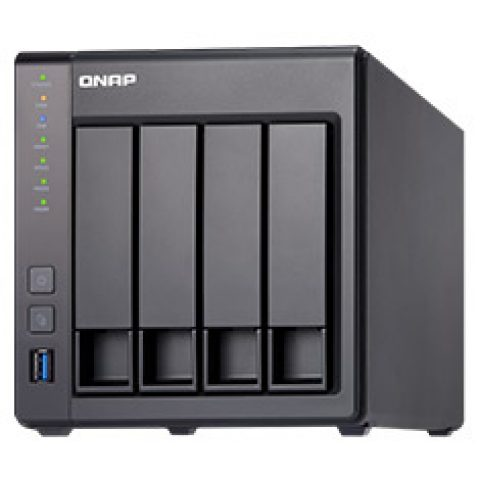 QNAP TS-431X2-2G 4 Bay NAS with 2GB RAM NAS 个人云 私有云