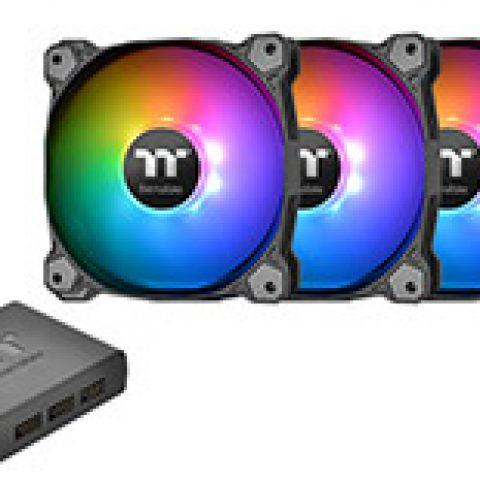 Thermaltake Pure Plus 12 LED RGB Radiator Premium 3 Fan Pack 风扇套装