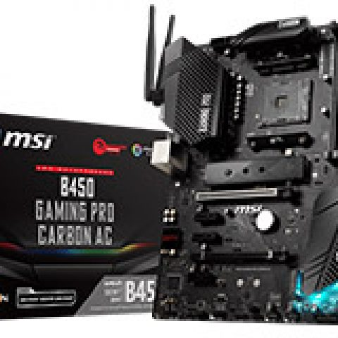 微星 B450 Gaming Pro Carbon AC 主板