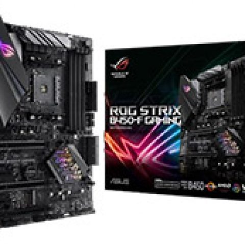 华硕 玩家国度 ROG Strix B450-F Gaming 主板