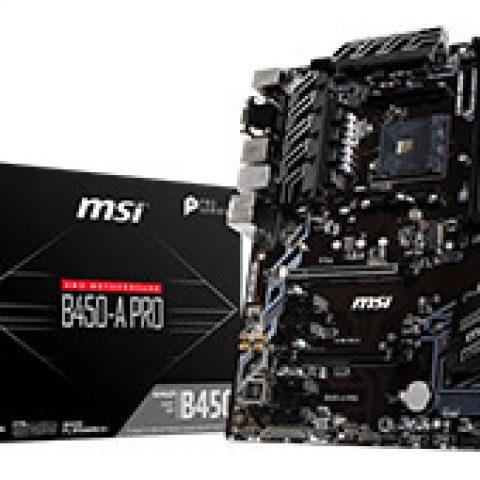 微星 B450-A Pro MAX 主板