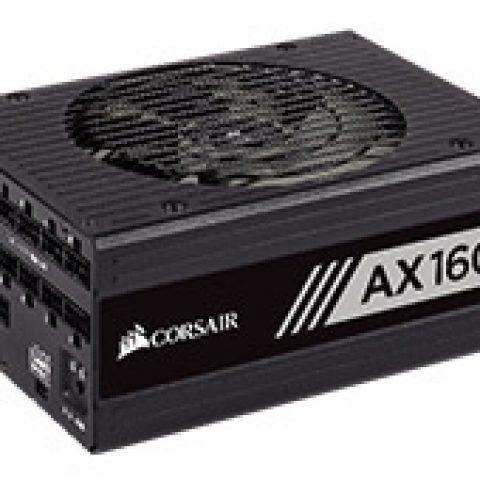 海盗船 AX1600i Digital ATX Modular Titanium 1600W Power Supply 电源