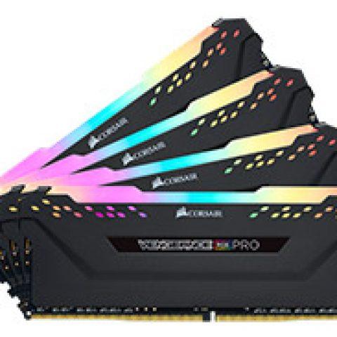 海盗船 复仇者 RGB Pro CMW64GX4M4C3000C15 64GB (4x16GB) DDR4 内存