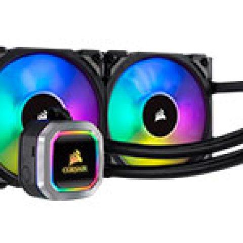 海盗船 Hydro Series H100i RGB Platinum 240mm Liquid CPU Cooler 一体水冷散热器