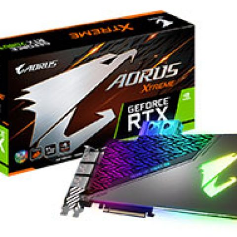 技嘉 AORUS GeForce RTX 2080 Ti Extreme Waterforce WB 11G 游戏显卡