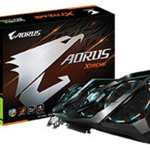 技嘉 AORUS GeForce RTX 2080 Ti Extreme 11GB 游戏显卡