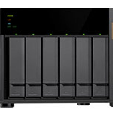 QNAP TS-673 6 Bay NAS with 8GB RAM NAS 个人云 私有云