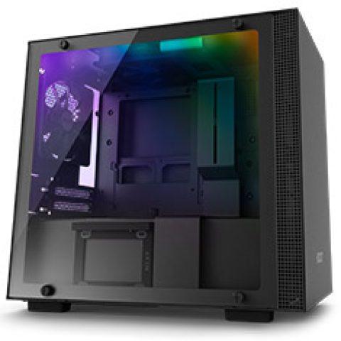 NZXT H210i Smart Mini-ITX Case Black/Black 机箱