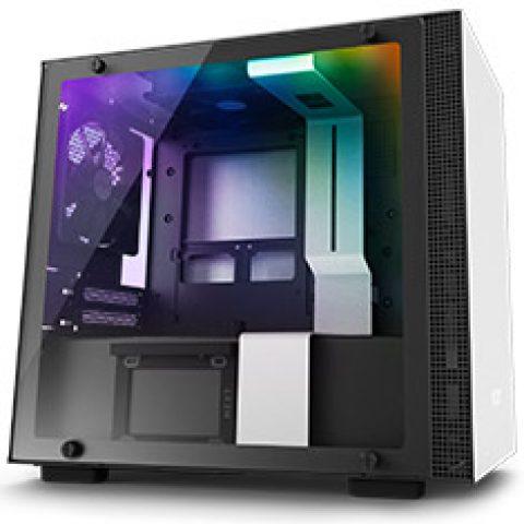 NZXT H210i Smart Mini-ITX Case White/Black 机箱