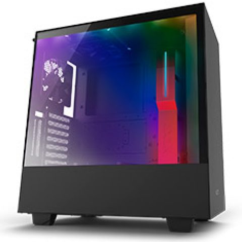 NZXT H510i Mid Tower Case Matte Black/Red 机箱