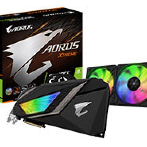 技嘉 AORUS GeForce RTX 2080 Ti Extreme Waterforce 11G 游戏显卡