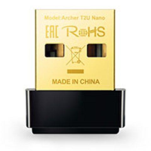 TP-Link Archer T2U 双频 无线 双频AC600 Nano USB 网卡