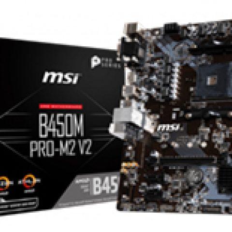 微星 B450M Pro-M2 V2 MAX 主板