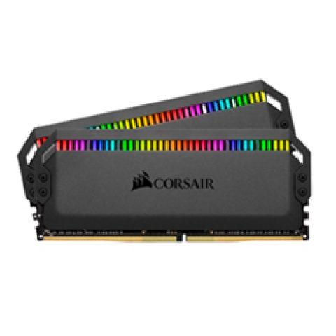 海盗船 白金统治者  RGB 3200MHz 16GB (2x8GB) DDR4 内存