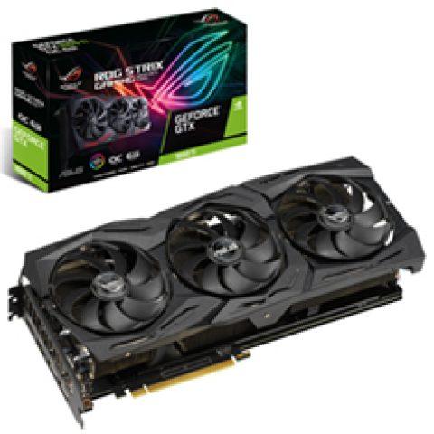 华硕 ROG 玩家国度 GeForce GTX 1660 Ti Strix Gaming OC 6GB 游戏显卡