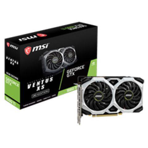 微星 GeForce GTX 1660 Ti Ventus XS 6G OC 游戏显卡