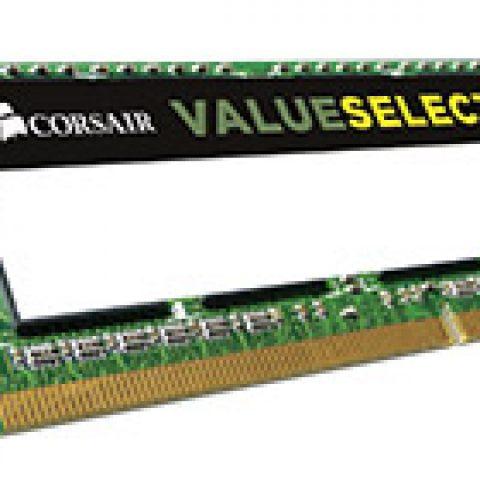 海盗船 CMSO8GX3M1C1600C11 8GB (1x8GB) DDR3 SODIMM 笔记本内存