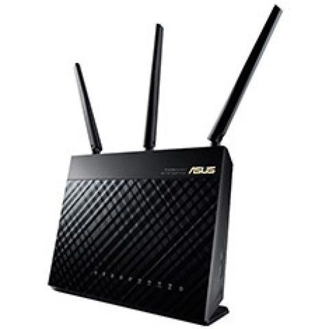 华硕 RT-双频AC68U 双频 无线 双频AC1900 路由器