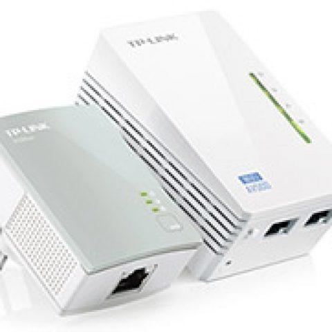 TP-Link TL-WPA4220KIT AV500 WiFi 电力猫 Extender Starter Kit