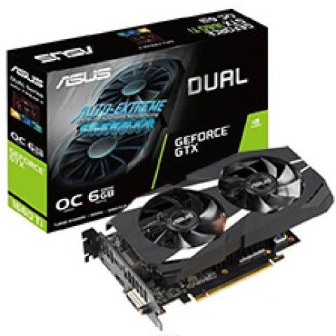 华硕 GeForce GTX 1660 Ti Dual Fan OC 6GB 游戏显卡