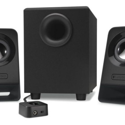 Logitech Z213 2.1 Multimedia Speakers 音箱 音响 扬声器