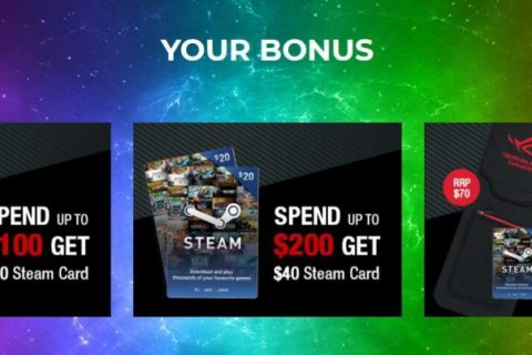 Promotion Period: 17th June 2019 to 31st August 2019 Bonus Keyboard Sleeve & Steam Card UPGRADE & PROTECT YOUR GAMING GEAR!