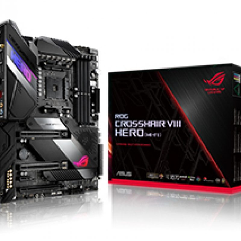 华硕 ROG Crosshair VIII Hero WiFi Motherboard 主板