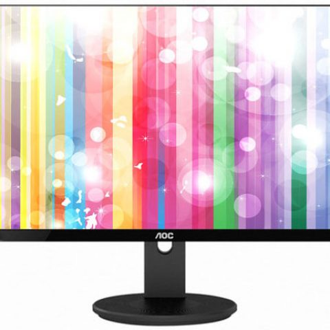 "AOC I2790VQ 27"" IPS 5ms Full HD Frameless Monitor - VGA/HDMI/DP Speaker VESA100mm 显示器"