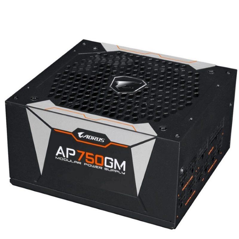 技嘉 AP750GM AORUS 750W ATX 电源 Power Supply 80+ Gold Modular 10 years warranty
