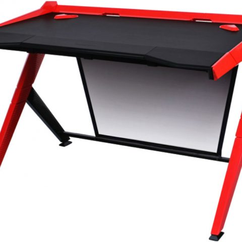 DXRacer 迪锐克斯 1000 Series Gaming Desk Black & Red 电竞桌 电脑桌 桌子