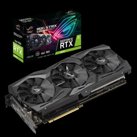 华硕 玩家国度 ROG 玩家国度 STRIX GeForce RTX 2070 Super Advanced Edition 8GB 游戏显卡
