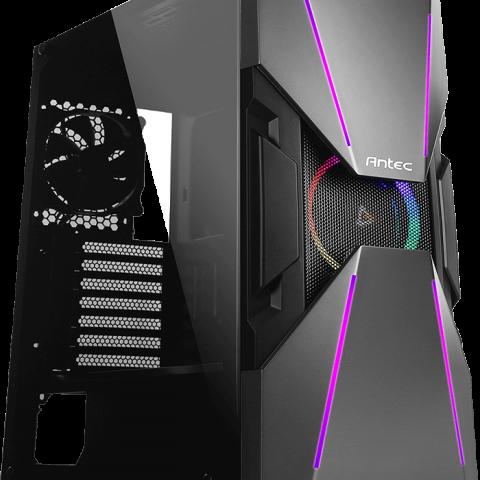 安钛克 Antec DA601 ATX E-ATX Tempered Glass Gaming Case 机箱