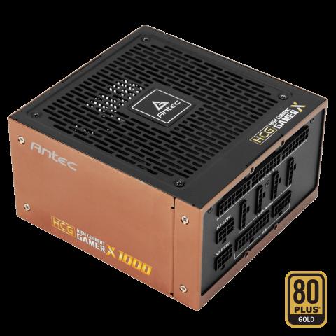 安钛克 Antec HCG1000 Extreme 1000w 80+ Gold 金牌, Zero RPM Mode 电源