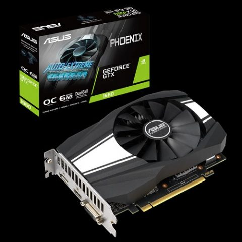 华硕 GeForce GTX 1660 Super Phoenix OC 6GB 游戏显卡